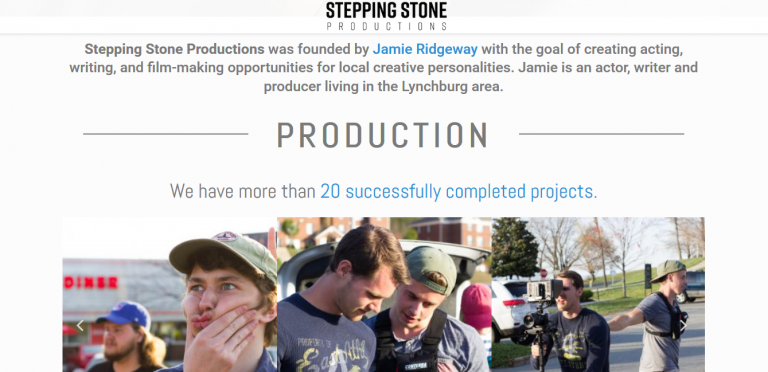 Stepping Stone Productions Home 2