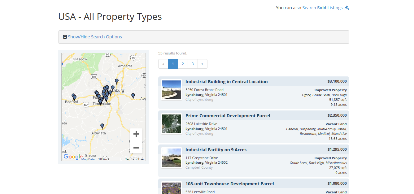 Gentry Commercial Real Estate Listings