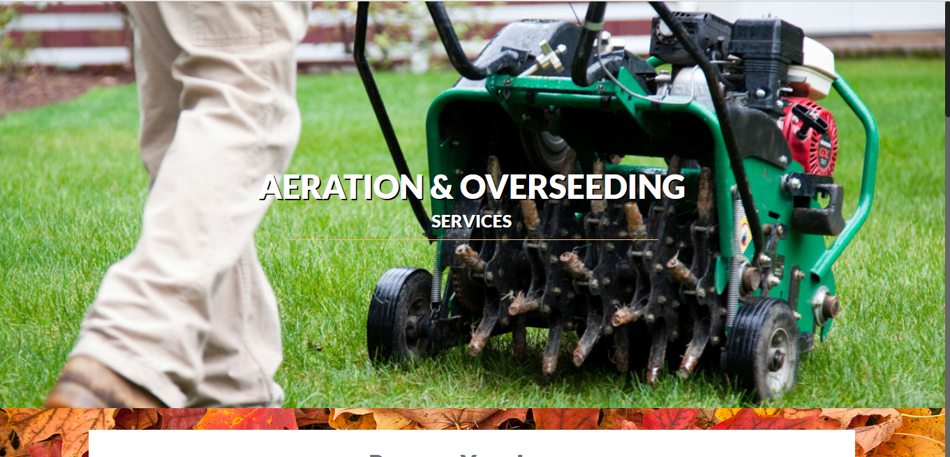 CLC Aeration and Overseeding