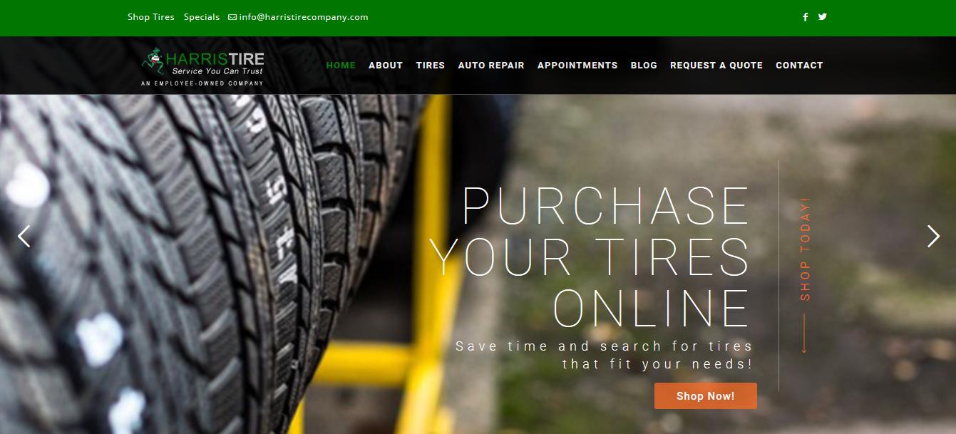 Harris Tire Company Home