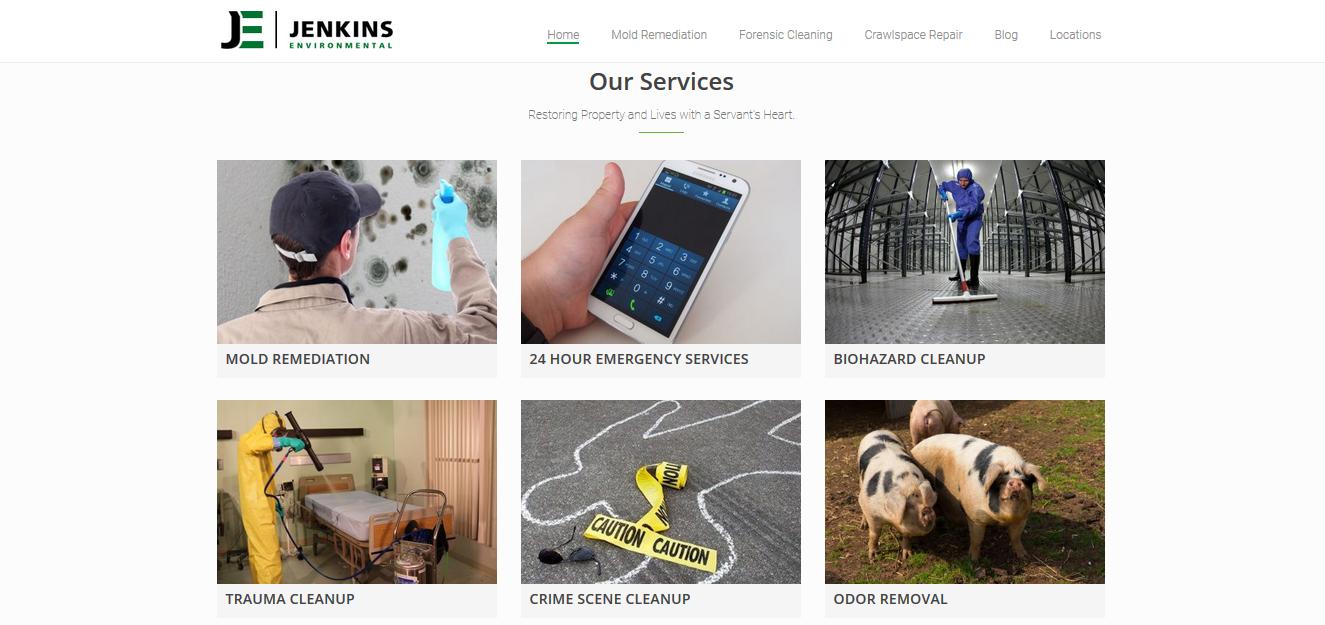 Jenkins Environmental Services Home 2