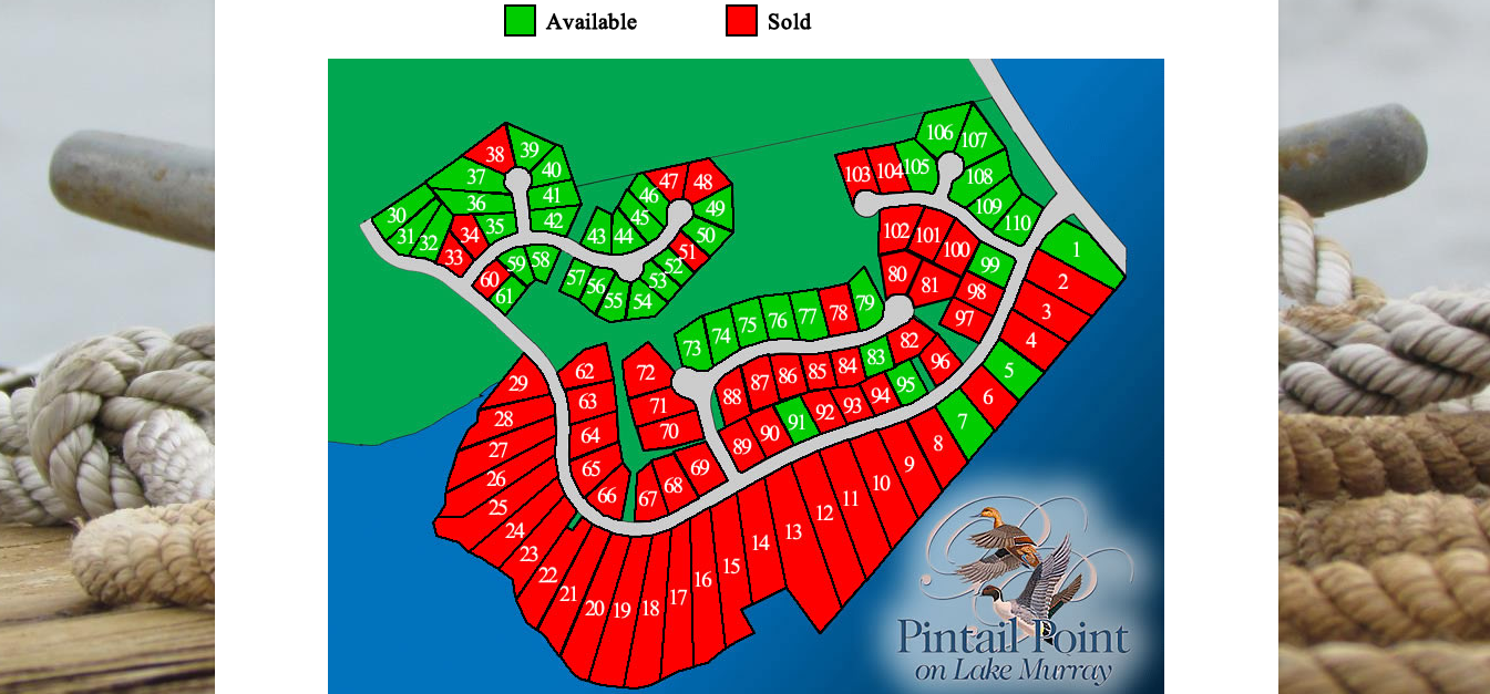 Pintail Property Map
